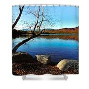 Mountain Lake Chocorua Shower Curtain