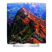 Mountain Landscape 27  Shower Curtain
