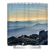 Mountain Layers Shower Curtain