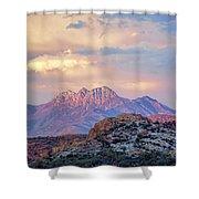 Mountain Majesty Shower Curtain
