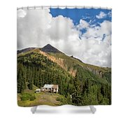 Mountain Mining Home Shower Curtain