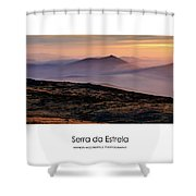 Mountain Mist Poster Shower Curtain