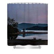 Mountain Nights Shower Curtain