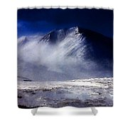 Mountain Of Alaska Shower Curtain