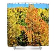 Mountain Of Color In Dillon Colorado Shower Curtain