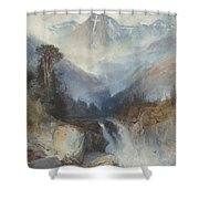 Mountain Of The Holy Cross Shower Curtain