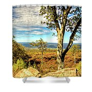 Mountain Overlook At High Point New Jersey Shower Curtain