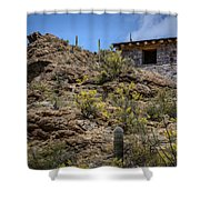 Mountain Overlook Shower Curtain