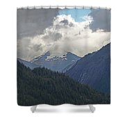 Mountain Peaks Shower Curtain