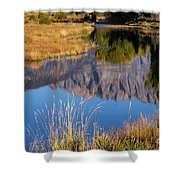 Mountain Reflection Shower Curtain