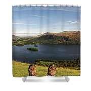 Mountain Relaxation Shower Curtain