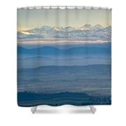 Mountain Scenery 11 Shower Curtain