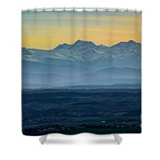Mountain Scenery 12 Shower Curtain
