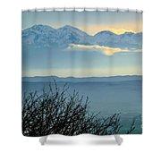 Mountain Scenery 14 Shower Curtain