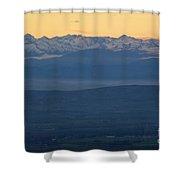 Mountain Scenery 19 Shower Curtain