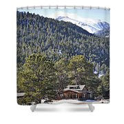 Mountain Scenery Shower Curtain