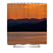 Mountain Shadows Shower Curtain