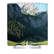 Mountain Sight Shower Curtain