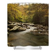 Mountain Stream 2 Shower Curtain