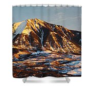 Mountain Sunsets Shower Curtain