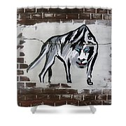Mountain Tiger Shower Curtain