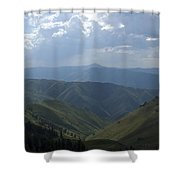 Mountain Top 1 Shower Curtain