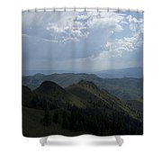 Mountain Top 2 Shower Curtain
