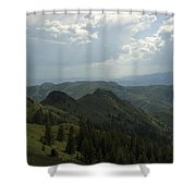 Mountain Top 5 Shower Curtain
