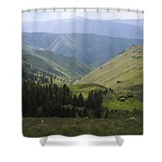 Mountain Top 6 Shower Curtain