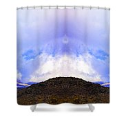 Mountain Tops In Sicily Shower Curtain