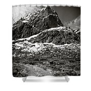Mountain Track Shower Curtain