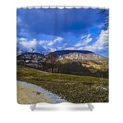 Mountain Udrc  Shower Curtain
