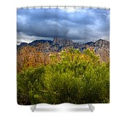 Mountain Valley No33 Shower Curtain