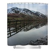 Mountain Vew Shower Curtain