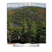 Mountain View, Acadia National Park Shower Curtain