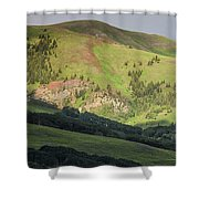 Mountain View From Gothic Road Shower Curtain