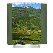 Mountain View In Colorado Shower Curtain