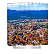 Mountain View Of Easthampton, Ma Shower Curtain