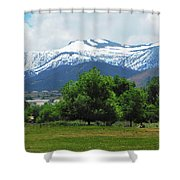 Mountain View - Reno Nevada Shower Curtain