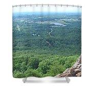 Mountain Views Shower Curtain