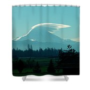 Mountain Wings Shower Curtain