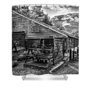 Mountain Workshop Shower Curtain