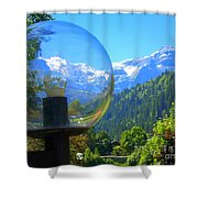 Mountain World 5 Shower Curtain