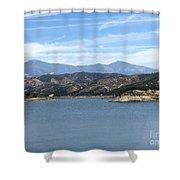 Mountainous View Shower Curtain