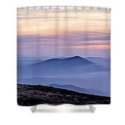 Mountains And Mist Shower Curtain