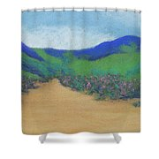 Mountains At Moholoholo Shower Curtain