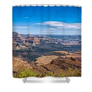 Mountains Below The Surface Shower Curtain