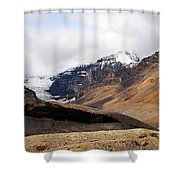 Mountains Clouds And Glaciers 2 Shower Curtain