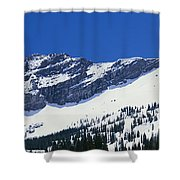 Mountains Covered With Snow, Little Shower Curtain