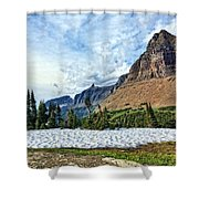 Mountains In Glacier National Park 2 Shower Curtain